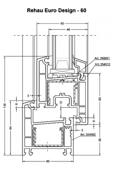 Kunststoff fenstern und t ren aus rehau profilsystemen 3 for Rehau fenster