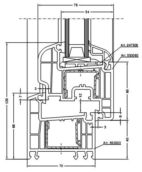 Kunststoff fenstern und t ren aus rehau profilsystemen 5 for Rehau fenster